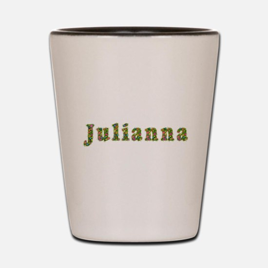 Julianna Floral Shot Glass