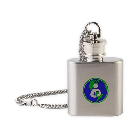 IBFS Earth Mother #2 Flask Necklace