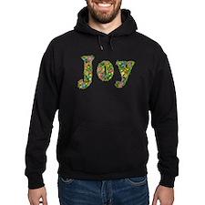 Joy Floral Hoodie