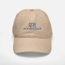Ocean City MD - Nautical Design. Baseball Baseball Cap