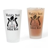 Boston terrier Pint Glasses