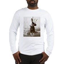 Bagpipes Rock On Long Sleeve T-Shirt