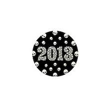 Skulls 2013 Mini Button