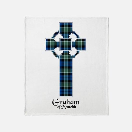 Cross - Graham of Menteith Throw Blanket