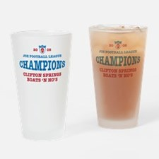 2008 Champs Drinking Glass