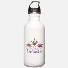 The Tiara Fits Sports Water Bottle