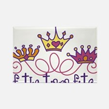 The Tiara Fits Rectangle Magnet