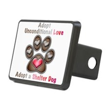 adopt unconditional love Hitch Cover