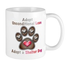 adopt unconditional love Mug