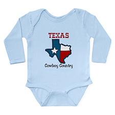 Cowboy Country Long Sleeve Infant Bodysuit