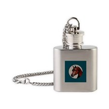Perfect Arabian Horse Flask Necklace