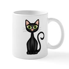 Black Cat Small Mug