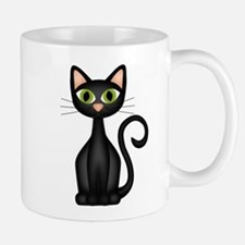 Black Cat Small Small Mug