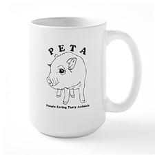 Peta-People Eating Tasty Animals Mug