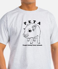 Peta-People Eating Tasty Animals T-Shirt