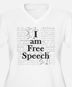 I am Free Speech T-Shirt