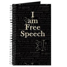 I am Free Speech Dark Journal