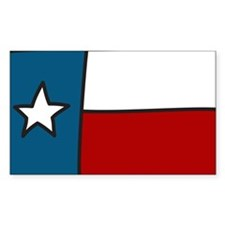 Texas Flag Decal