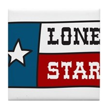 Lone Star Tile Coaster