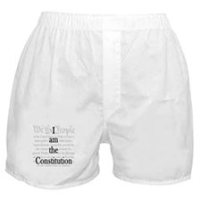 I am the Constitution Boxer Shorts