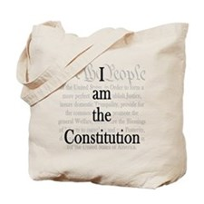 I am the Constitution Tote Bag