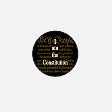 I am the Constitution Mini Button