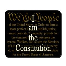 I am the Constitution Mousepad