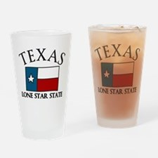 Lone Star State Drinking Glass