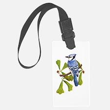 Debbies Blue Jay Luggage Tag