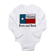 Born And Bred Long Sleeve Infant Bodysuit