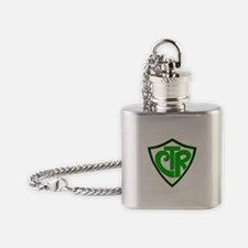 """CTR """"Choose the Right"""" Flask Necklace"""