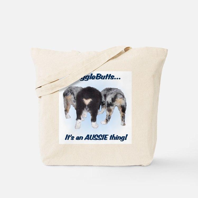 Cute Australian shepherd Tote Bag