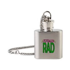 'Totally Rad' Flask Necklace