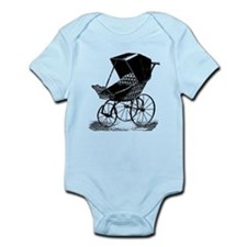Gothic Baby Carriage Infant Bodysuit