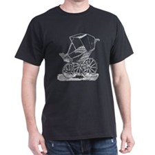 Gothic Baby Carriage T-Shirt