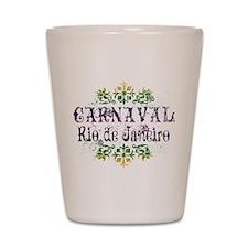 Carnaval Rio De Janeiro Shot Glass