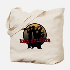 New Orleans Jazz Players Tote Bag