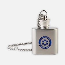 I Support Israel Flask Necklace