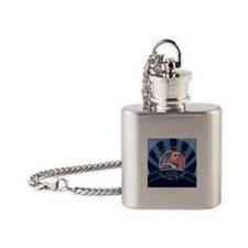 The Inauguration Day Flask Necklace
