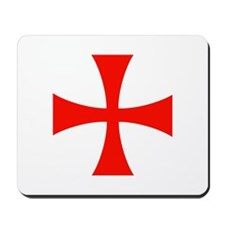 Templar Red Cross Mousepad