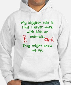 Kids or animals Hoodie