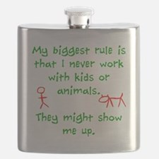 Kids or animals Flask