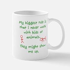 Kids or animals Mug