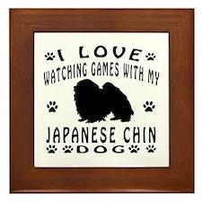 Japanese Chin Framed Tile