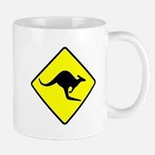 Kangaroo Crossing Mug