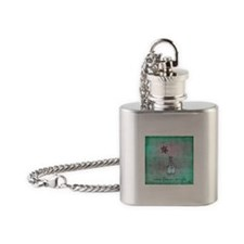 A Simple Flower Flask Necklace