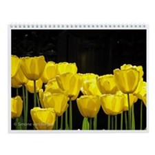 Cute Tulip bulbs Wall Calendar