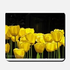 Yellow Tulips Mousepad