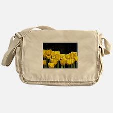 Yellow Tulips Messenger Bag