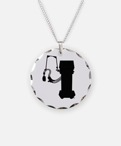 Respiratory Therapy Necklace Circle Charm